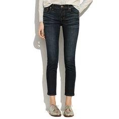 Madewell - Skinny Skinny Crop Jeans in Midnight Haze