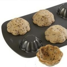 Upside down pans make cookie bowls. Awesome, awesome, awesome. Ice cream muffin, here I come!