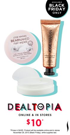 Black Friday Preview: Josie Maran Argan Hand Healers Set #Dealtopia #Sephora #blackfriday