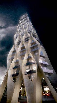 'karlavagnstornet', Gothenburg, Sweden - Zaha Hadid proposal