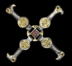 Merovingian Frankish Silver Strap Distributor, 6th century A.D.