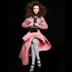 Pink | Carine Roitfeld Fall 2013 Fashion Shoot – Carine Roitfeld and Karl Lagerfeld Fall 2013 Fashion Editorial - Harper's BAZAAR
