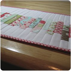 Tutorial – Quilt as You Go Placemats