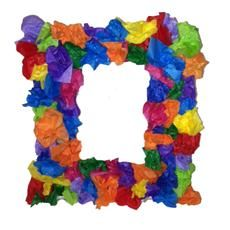 Elmers - Spring Flower Photo Frames Create colorful 3-dimensional photo frames with recycled materials!