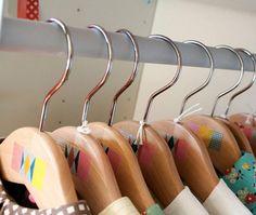 Washi tape hangers