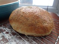 Rosemary & Olive Oil Bread