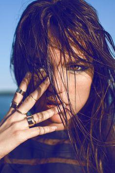 . sexi girl, rami hanna, ring, fashion, delici face, beauti, barbi girl, beach, close