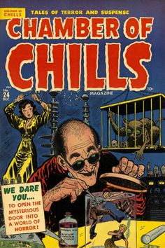 Comic Book Cover For Chamber of Chills Magazine v1 24 [4]