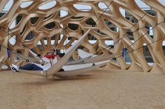 bo_280812_05 » CONTEMPORIST students, schools, structur, pavilion, parametr, germany, wood sculpture, architecture, architectur fffun