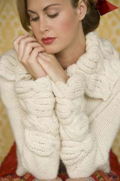 Ravelry: Snowdrift Cardigan pattern by Michele Rose Orne