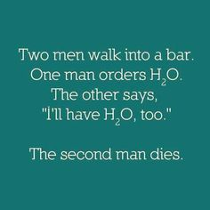 Great science joke.