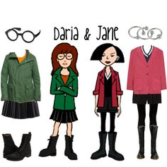 Daria and Jane costumes @S. - do they count as fantastical??? lol