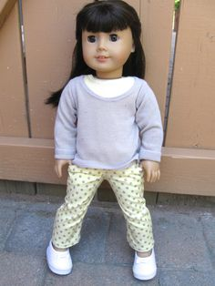 American Girl Doll Clothes Summer Spots by 123MULBERRYSTREET, $29.00
