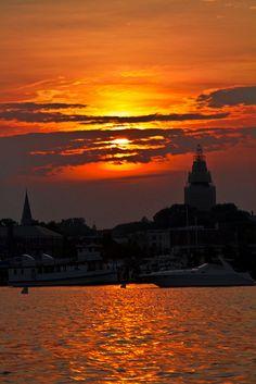 Annapolis Harbor, Annapolis, MD  by KP Tripathi, via Flickr