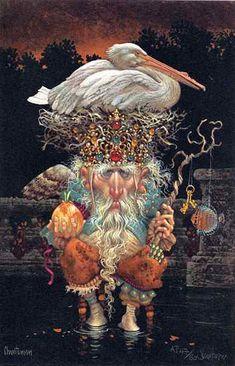 Pelican King - Artist Proof   By James C. Christensen