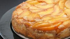 grill recipes, brown sugar, peach cake, upsidedown cake, food, upside down cakes, peach upsidedown, grills, dessert