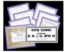 free long vowel activities
