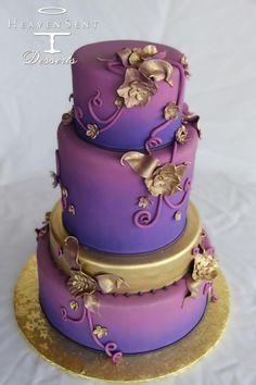 Heaven Sent Desserts, Beautiful wedding cake with style