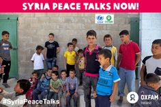 As the 1 millionth child refugee flees #Syria, we urgently need you to SIGN this petition for #SyriaPeaceTalks and REPIN this photo. http://www.change.org/petitions/don-t-let-syria-down
