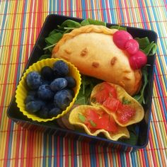 Hello Kitty Curry Puffs