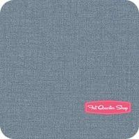 Le Bouquet Francais Woad Linen Texture Yardage SKU# 13529-110