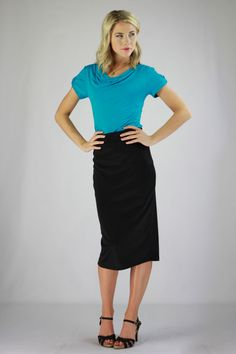 Modest Skirts in Black