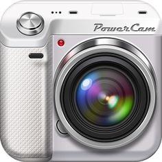 PowerCam app icon, iOS app icon