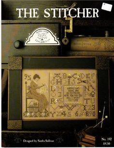 """The stitcher"" by Homespun Elegance, like it!"