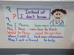A great poster for the clasroom