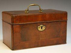 18th Century Walnut Box.  I love wooden boxes.