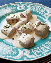 Roast Capon with Mushroom Sauce // Fantastic Roasts: http://fandw.me/Qog #foodandwine