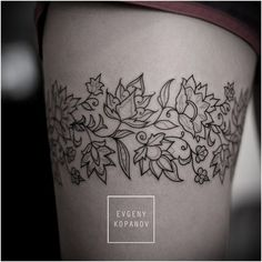 Details from today. For Alina. Flower-ornament. #tattoo...