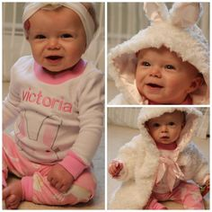 Love the @Naomi Lane fireflies Baby Clothes for Easter! My Victoria is LOVING them, too! http://momgenerations.com/2014/03/what-victoria-wore-chasing-fireflies-easter-clothing-ootd/