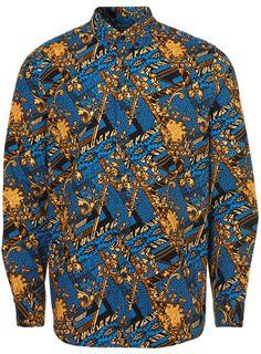 Baroque Print Shirt, Topman