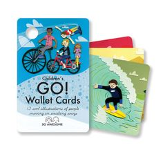 DECK: Children's GO! Wallet Cards, In stock