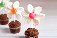 Blossom cupcakes - 15 Easter Crafts, Activities, and Treats for Kids I Easter Ideas for Kids - ParentMap
