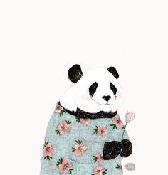 .flower panda