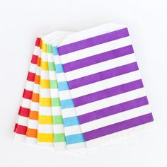 Rainbow Rugby Stripe