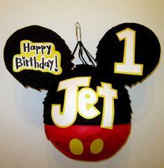 Custom Mickey Mouse Pinata in Pants!! by PinataMama on Etsy, $60.00