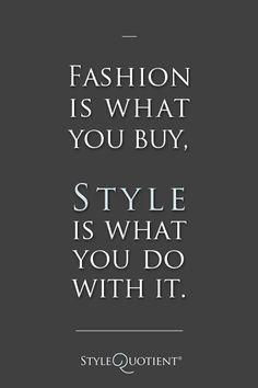 never be a fashion victim