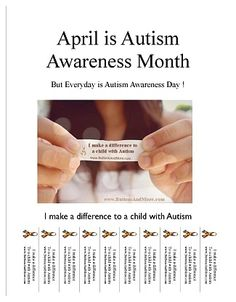 April is Autism Awareness Month month recip, autismawar, autism awareness, chocolates, trifles, april, neck pain, awar month, chocolate trifle