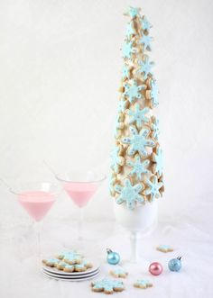 sugar cookie tree how-to (sprinklebakes.com)