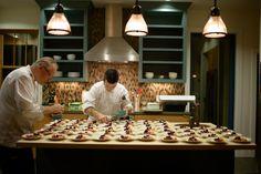 wineri guesthous, dessert cours, kitchen