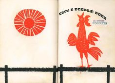 Cock a Doodle Doo: A Book of Sounds by Ed Emberley