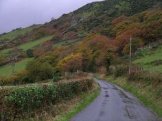 Welsh countryside  My father's country