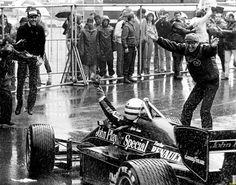 Ayrton Senna - 1st Victory, Estoril 1985