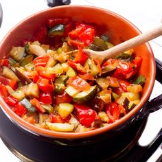A simple recipe for Ratatouille, a tasty vegetable dish.. Ratatouille Recipe from Grandmothers Kitchen.