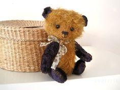 Pattern to create Teddy Bear Misha brown gold beige by zverrriki, £9.00