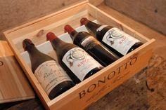 Bonotto Rabosa wines boxed for export.  Bonotto wines are distributed in Florida by Jim Calipari in Tampa