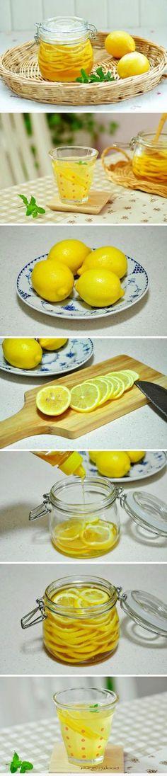 Sore throat : Lemon and Honey